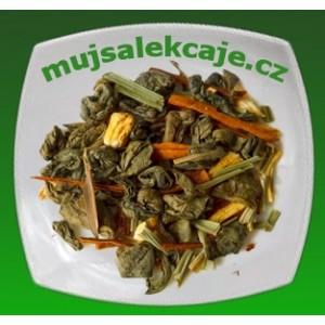 Zelený čaj Ženšen - Citronela 50g