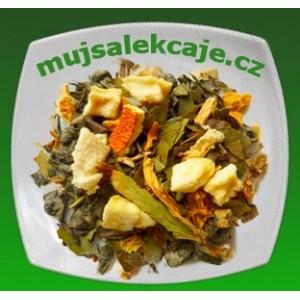 Jasná mysl - zelený čaj s ženšenem a gingkem 100g