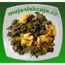 Zelený čaj s květy jasmínu 100g