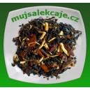 Černý čaj s ženšenem a kořením 100g